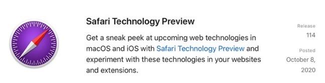 Safari Technology Preview 114 00001 z