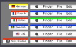 アクティブなMacキーボード言語が一目でわかる無料のアプリケーション「ShowyEdge」