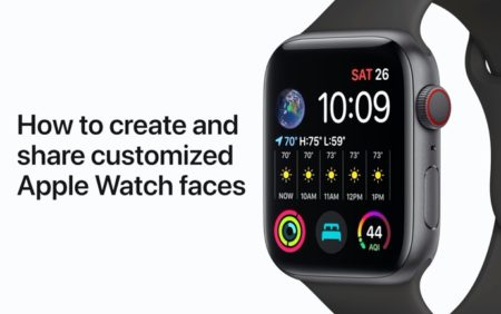 Apple Support、カスタマイズしたApple Watch文字盤を作成して共有する方法のハウツービデオを公開
