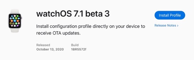WatchOS 7 1 beta 3 00001 z