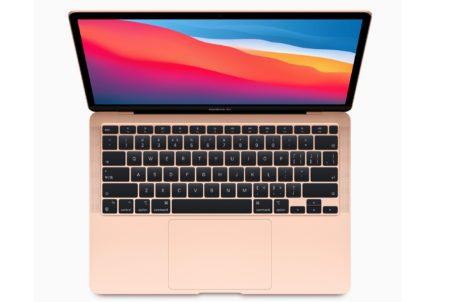 Apple Silicon M1 MacBook Air SSDは前モデルの2倍の速さ