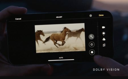 iPhone 12および12 ProのDolby Vision HDR対応ビデオアプリ