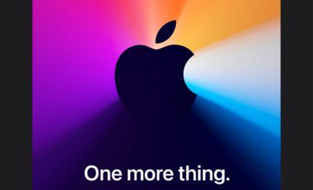 Apple、11月10日(日本時間 11月11日 午前3時)にApple Silicon Macスペシャルイベントを開催すると発表