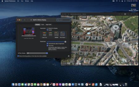 Appleの新しいM1グラフィックスは解像度を瞬時に変化させる