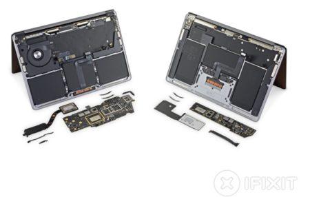 iFixit、M1 MacBook AirとMacBook Proの分解概要を公開