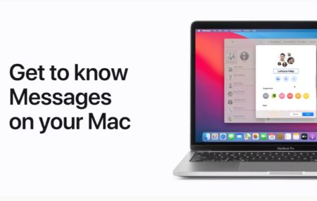 Apple Support、macOS Big Surのメッセージの新機能のハウツービデオを公開