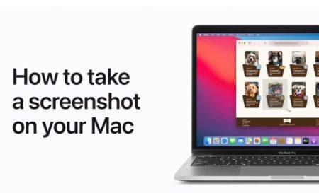 Apple Support、Macでスクリーンショットを撮る方法のハウツービデオを公開
