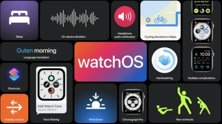 Apple、「watchOS 7.2 Developer beta 2 (18S5555c)」を開発者にリリース