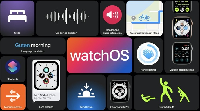 Apple、「watchOS 7.2 Developer beta 2 (18S5555c)」を開発者にリリース