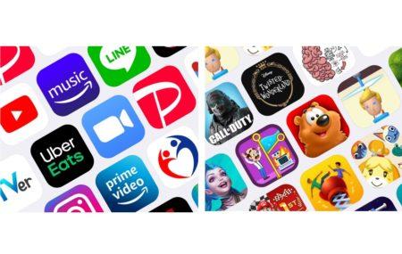 Apple、2020年最もダウンロードされたアプリケーションとゲームのランキングを発表