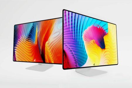 Apple Silicon搭載したiMac 24/32インチのコンセプト画像が公開される