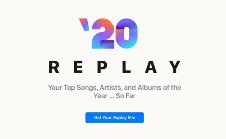 Apple MusicでReplay 2020のミックスと統計を取得する方法