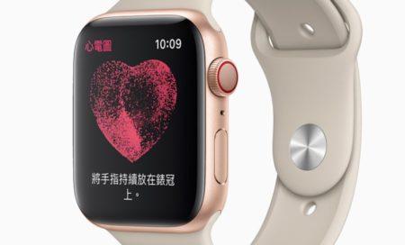 Apple WatchのECG機能が台湾で12月15日 より利用開始
