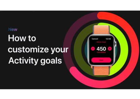 Apple Support、Apple Watchでアクティビティの目標をカスタマイズする方法のハウツービデオを公開