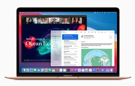 macOS Big Sur 11.1のM1 MacでiPhoneとiPadアプリのフルスクリーンサポート