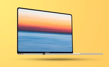 14インチMacBookProは、再設計され細いペゼルでmini-LEDディスプレイを搭載か