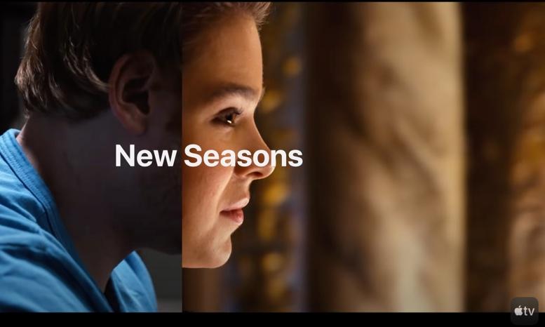 Apple、新しいAppleTV + Spring2021プレビューを公開