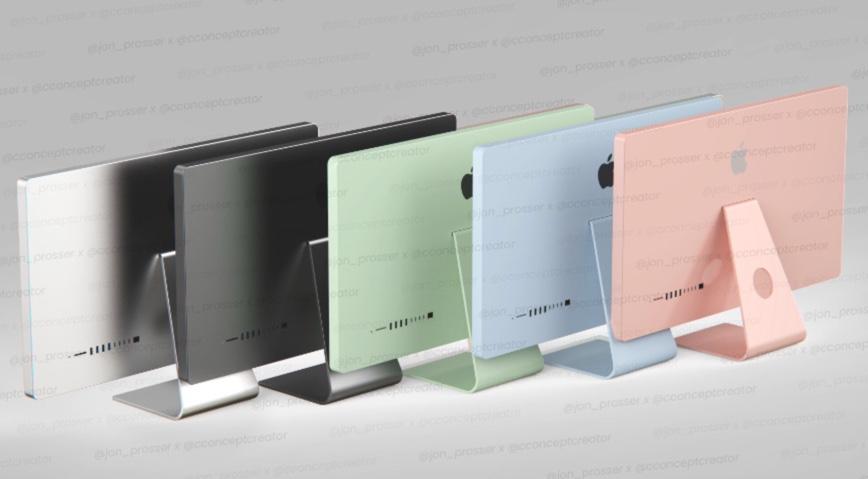 2021年のiMacは5色になるとの噂、Apple Silicon Mac Proは大幅に再設計される可能性