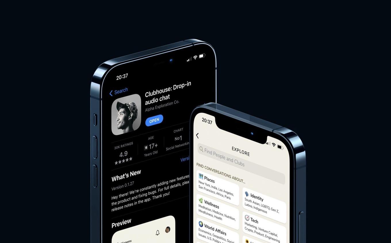 Clubhouse、iOS App Storeで800万ダウンロード達成