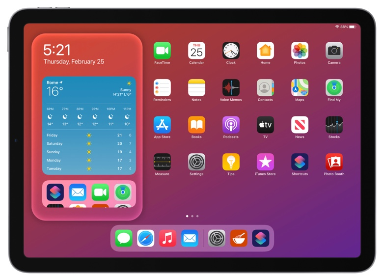 MacStoriesのスクリーンショットのショートカット「Apple Frames」、2020年のiPad Airに対応