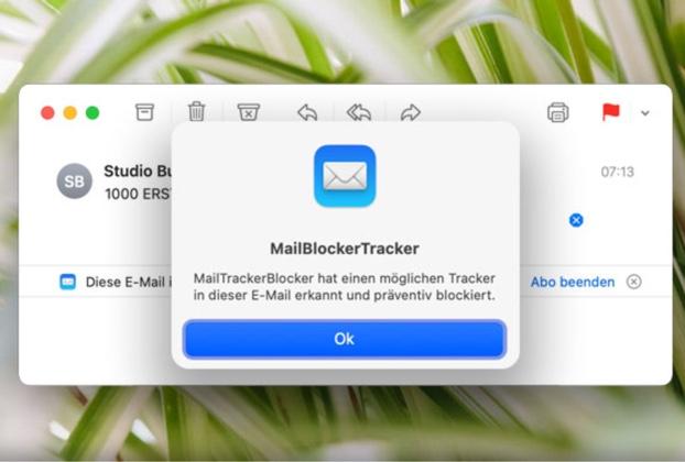 macOS Big Surのトラッキングピクセルをブロックするフリーウェア「MailTrackerBlocker」