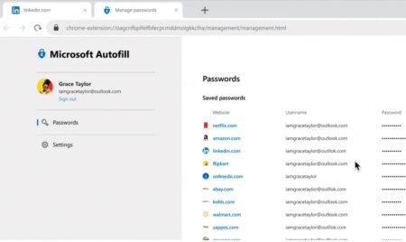Microsoft、「iOS」 などのプラットフォーム向けパスワード管理ツール「Microsoft オートフィル」を正式リリース