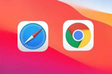 macOS Big Surで、ChromeはSafariの10倍のRAMを使う