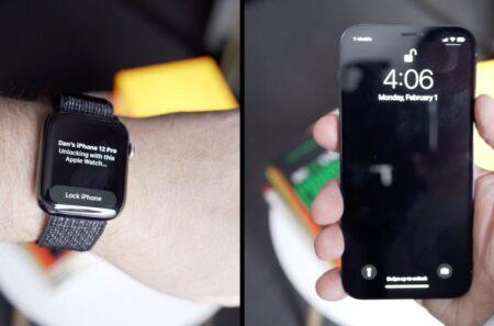 iOS 14.5ではApple WatchでiPhoneのロックを解除する機能が含まれる、ビデオを公開