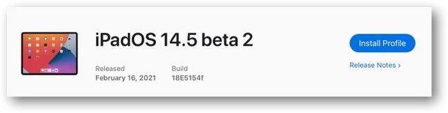 IPadOS 14 5 beta 2 00001