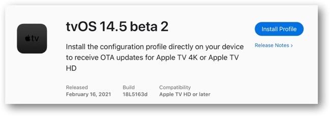 TvOS 14 5 beta 2 00001
