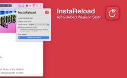 Safari でWebサイトを自動的にリロードするSafari の拡張機能プラグイン「InstaReload for Safari」
