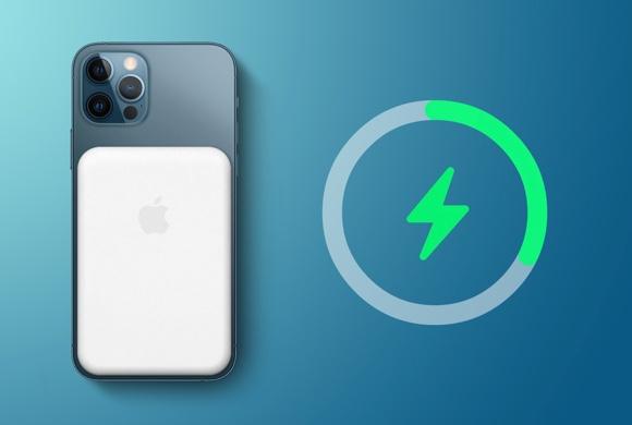 AppleのiPhone 12 MagSafeバッテリーパックは逆充電機能を備えていると言われ