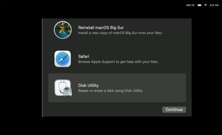 Appleシリコンを搭載したMacの内蔵スタートアップディスクを消去(フォーマット)する方法