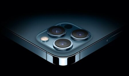 iPhone 13 Pro Maxには f/1.5の広角カメラが搭載