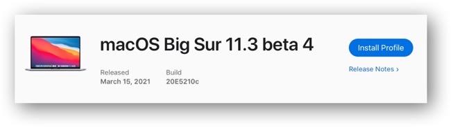 MacOS Big Sur 11 3 beta 4 00001