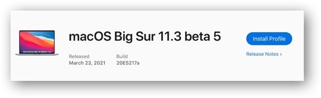 MacOS Big Sur 11 3 beta 5 00001