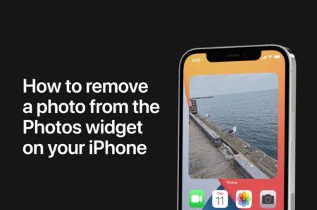 Apple Support、Phoneの「写真」ウィジェットから写真を削除する方法のハウツービデオを公開