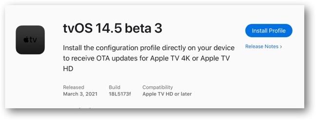 TvOS 14 5 beta 3 00001