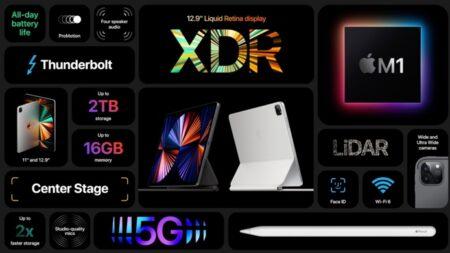 12.9インチM1 iPad Proの出荷日が6月中旬から下旬にすでにずれる