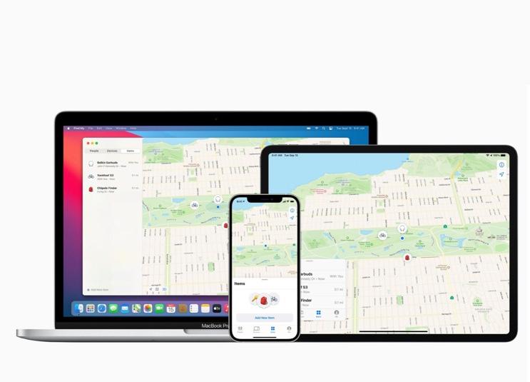 Apple、「探す」ネットワークとアクセサリーメーカー3社の初期パートナーを発表
