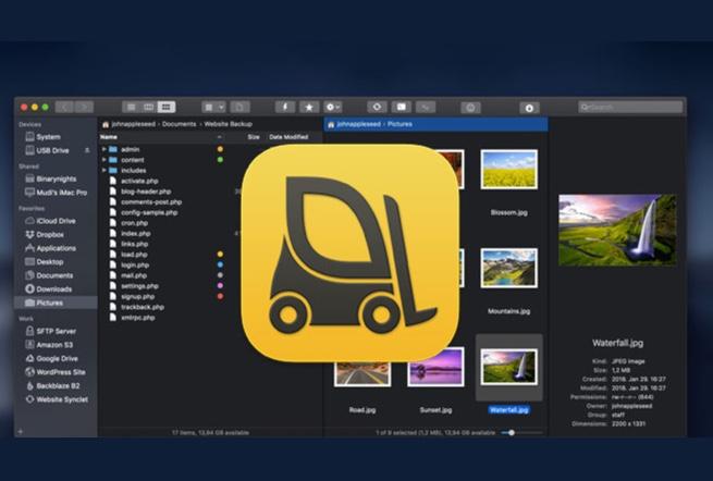 【Mac】ファイルマネージャ「ForkLift 3.5」の大幅アップデート