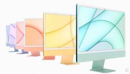Apple、M1 iMacの一部の色のみをApple Storeで購入できると発表