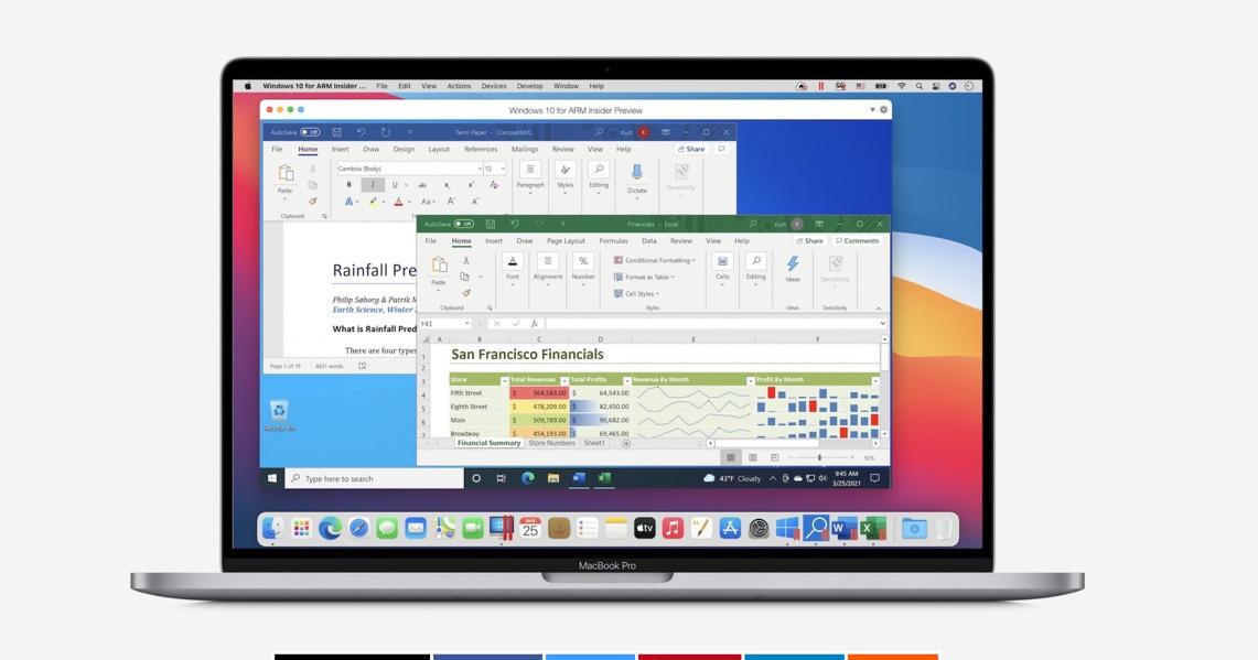 Apple SiliconをネイティブサポートするParallels 16.5が利用可能になり、VMのパフォーマンスがIntelより30%向上
