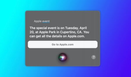Siri、4月20日(火)に予定されているAppleのイベントを明かす