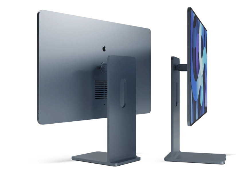 iPadとPro Display XDRにインスパイアされた新しいiMacのコンセプトビデオ