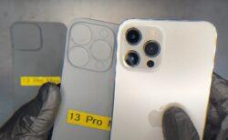 リークした回路図では、iPhone 13 Pro Maxのカメラレンズがかなり大きくなっている