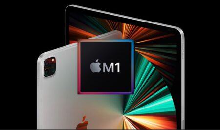 米国でM1 iPad Proのステータスが、配送準備中に