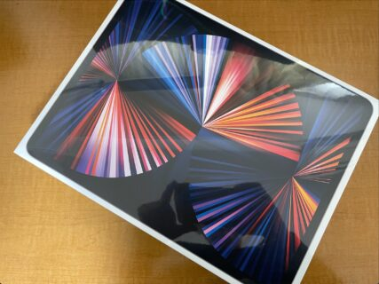 12.9インチ M1 iPad Pro 2021が到着