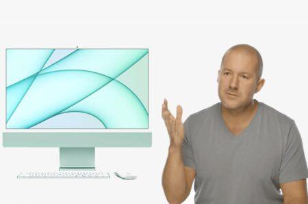 Jony Ive、2021 M1 iMac の設計開発に関与しました
