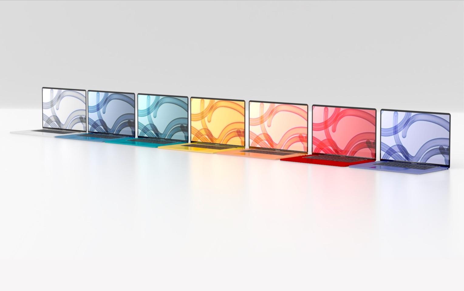 次のMacBook Airは24インチiMacの様に多色展開の可能性も